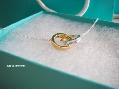Interlocking circles pendant elodiebubble circles of love tiffany 1837 aloadofball Gallery