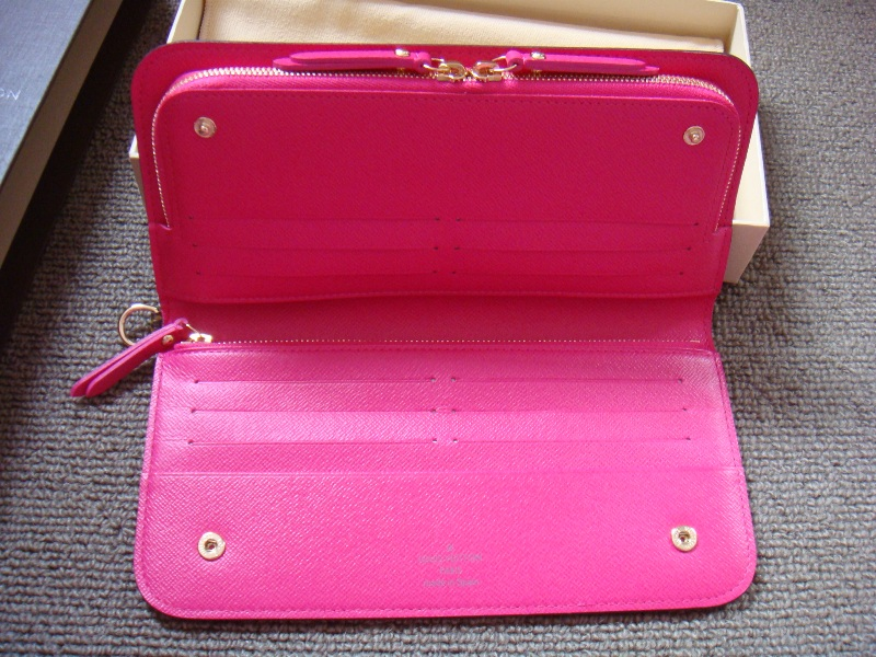 6c5bfe3c132 Louis Vuitton Monogram Insolite Wallet in Rose Pop. Dear Rosie ...