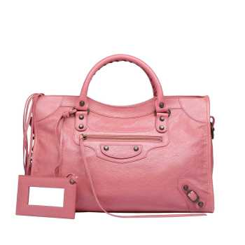 Balenciaga Classic City in Rose Bonbon picture from balenciaga.com