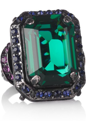 Lanvin Tutti Frutti Crystal Ring picture from net-a-porter.com