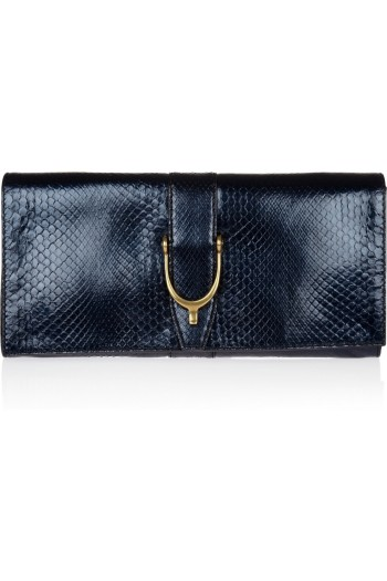 Gucci Python Clutch picture from gucci.com