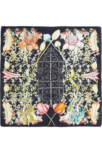 Swash Midnight Heligan Silk Scarf picture from net-a-porter.com