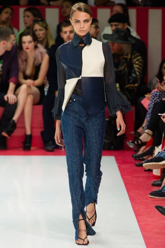 Acne Spring 2013 Runway picture from vogue.com