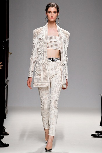 Balmain Spring 2013 Runway picture from vogue.com