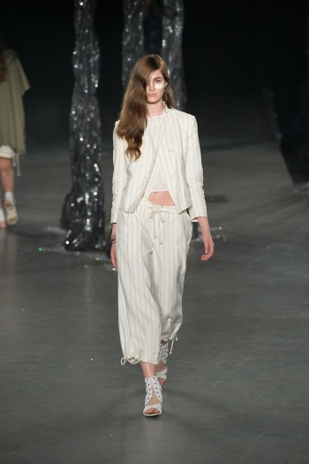 Band of Outsiders Spring 2013 Runway picture from vogue.com