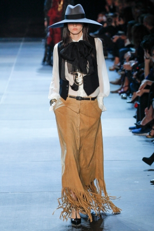 Saint Laurent Spring 2013 Runway picture from vogue.com