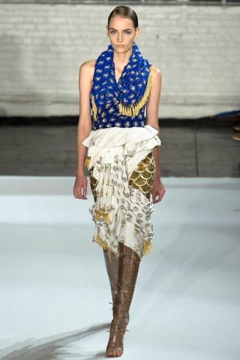 Altuzarra Spring 2013 Runway picture from vogue.com