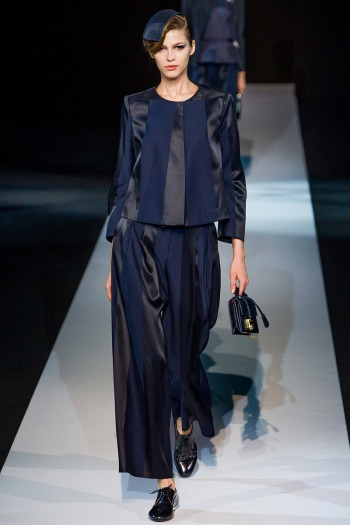 Giorgio Armani Spring 2013 Runway picture from vogue.com