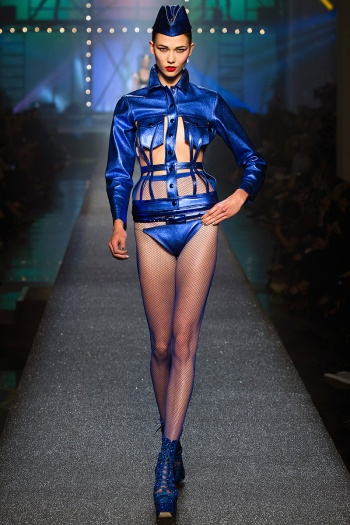 Jean Paul Gaultier Spring 2013 Runway picture from vogue.com