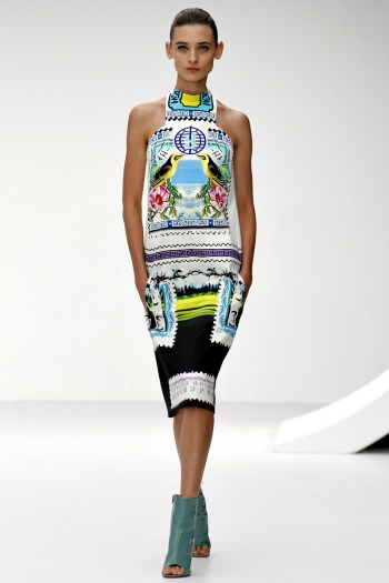 Mary Katrantzou Spring 2013 Runway picture from vogue.com