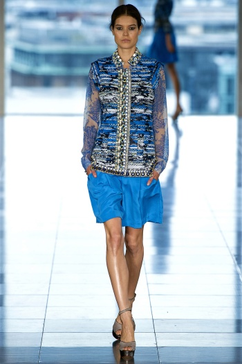 Matthew Williamson Spring 2013 Runway picture from vogue.com