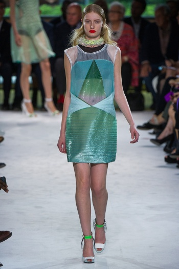 Missoni Spring 2013 Runway picture from vogue.com