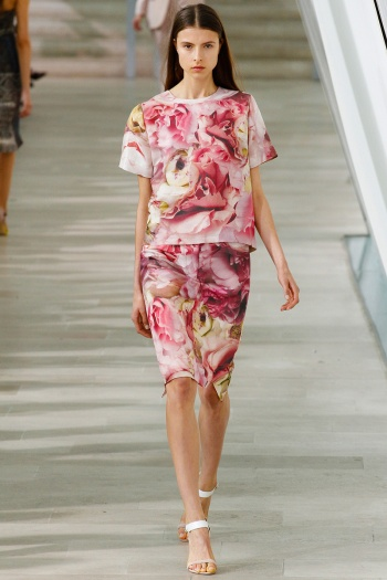 Preen Spring 2013 Runway picture from vogue.com