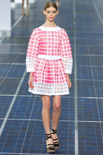 Chanel Spring 2013 Runway picture from vogue.com