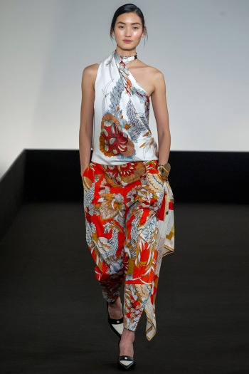 Hermes Spring 2013 Runway picture from vogue.com