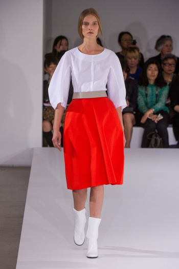 Jil Sander Spring 2013 Runway picture from vogue.com