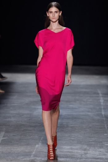 Narciso Rodriguez Spring 2013 Runway picture from vogue.com