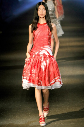 Prabal Gurung Spring 2013 Runway picture from vogue.com