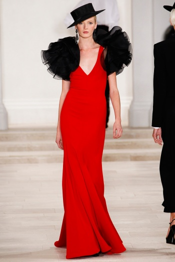 Ralph Lauren Spring 2013 Runway picture from vogue.com