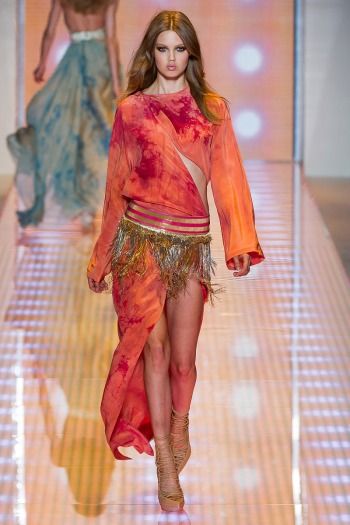 Versace Spring 2013 Runway picture from vogue.com