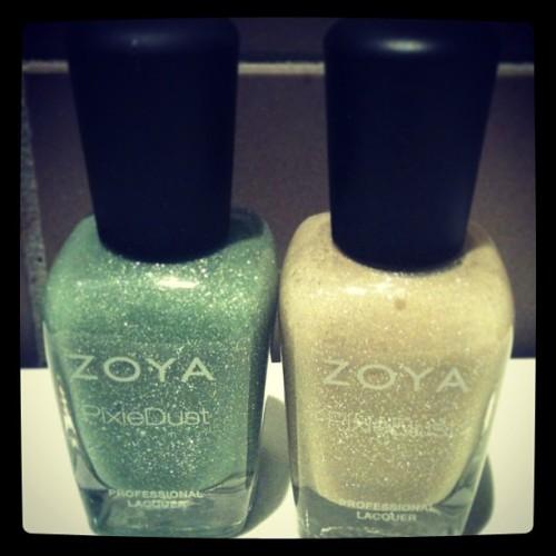 Zoya Pixie Dust- Vespa & Godiva
