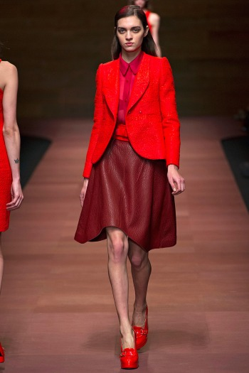Carven Spring 2013 Runway picture from vogue.com