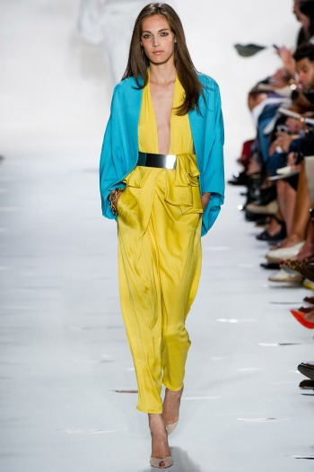 Diane von Furstenberg Spring 2013 Runway picture from vogue.com