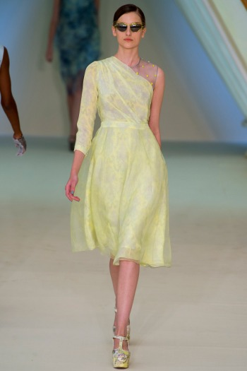 Erdem Spring 2013 Runway picture from vogue.com