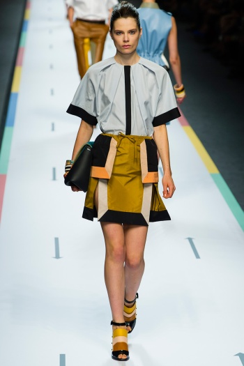Fendi Spring 2013 Runway picture from vogue.com