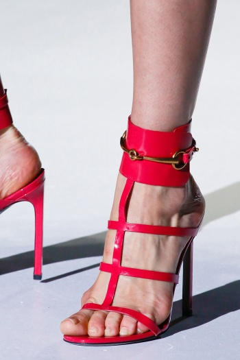 Gucci Spring 2013 Runway picture from vogue.com