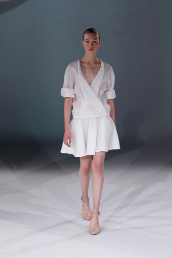 Chalayan Spring 2013 Runway picture from vogue.com