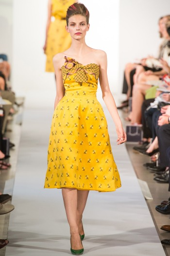 Oscar de la Renta Spring 2013 Runway picture from vogue.com