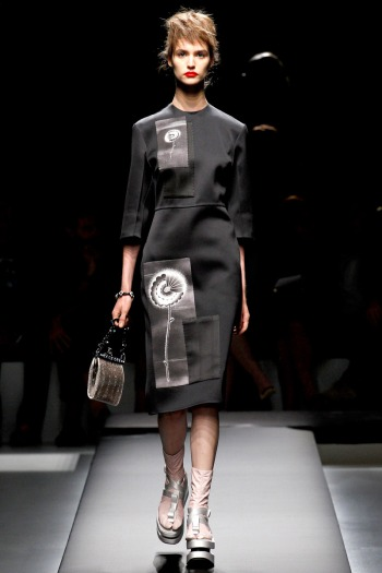 Prada Spring 2013 Runway picture from vogue.com