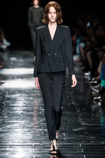 Theyskens Theory Spring 2013 Runway picture from vogue.com