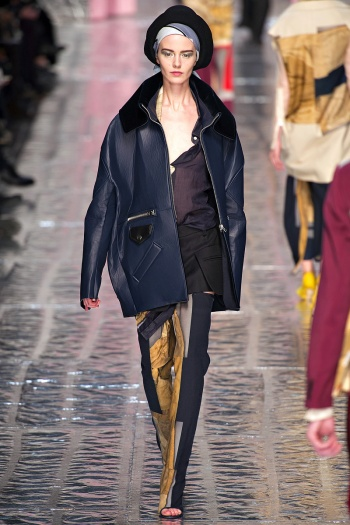 Acne Fall 2013 Runway picture from vogue.com