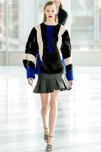 Antonio Berardi Fall 2013 Runway picture from vogue.com