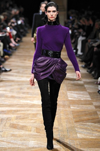 Balmain Fall 2013 Runway picture from vogue.com