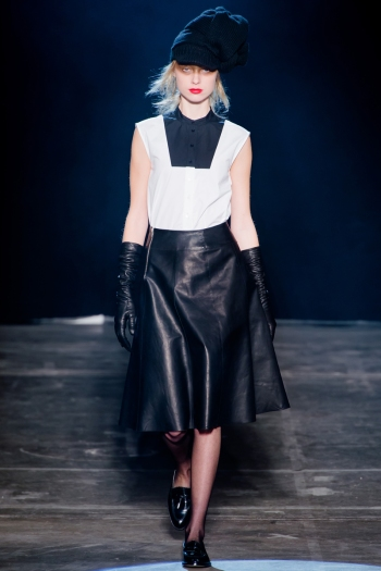 Band Of Outsiders Fall 2013 Runway picture from vogue.com