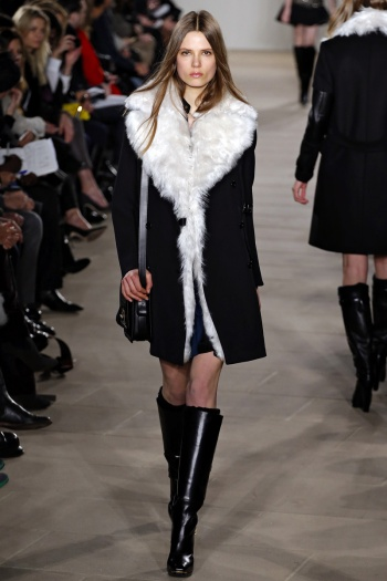 Belstaff Fall 2013 Runway picture from vogue.com