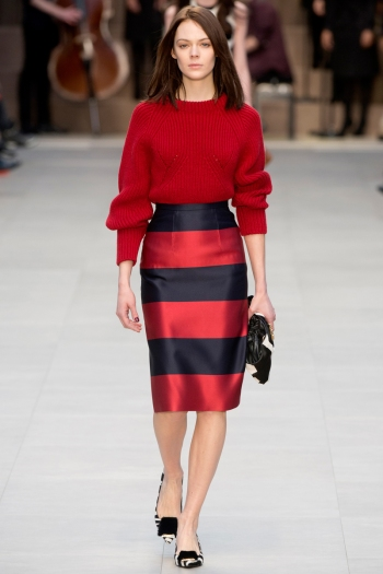 Burberry Prorsum Fall 2013 Runway picture from vogue.com