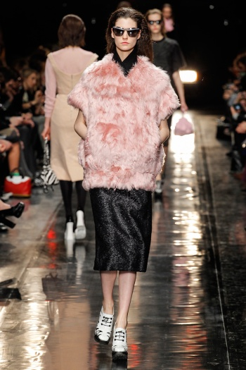Carven Fall 2013 Runway picture from vogue.com