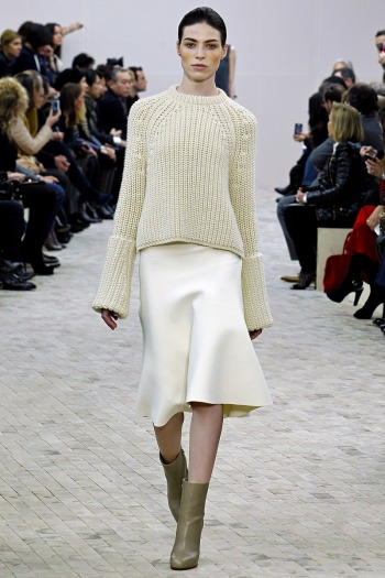 Celine Fall 2013 Runway picture from vogue.com