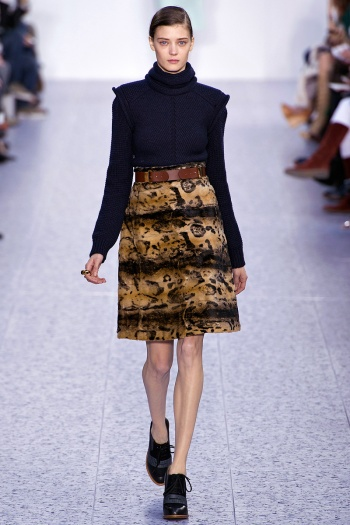 Chloe Fall 2013 Runway picture from vogue.com
