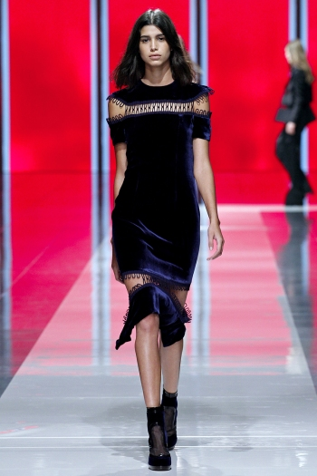 Christopher Kane Fall 2013 Runway picture from vogue.com