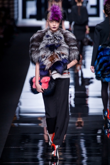 Fendi Fall 2013 Runway picture from vogue.com