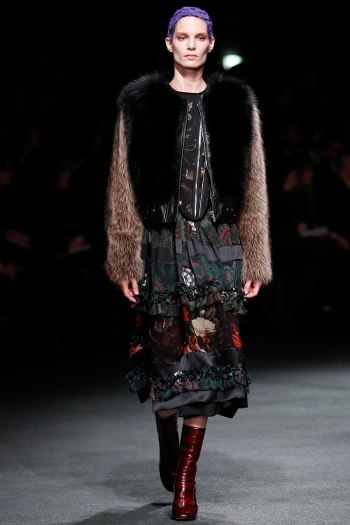 Givenchy Fall 2013 Runway picture from vogue.com