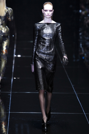 Gucci Fall 2013 Runway picture from vogue.com