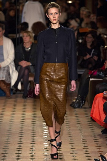 Hermes Fall 2013 Runway picture from vogue.com
