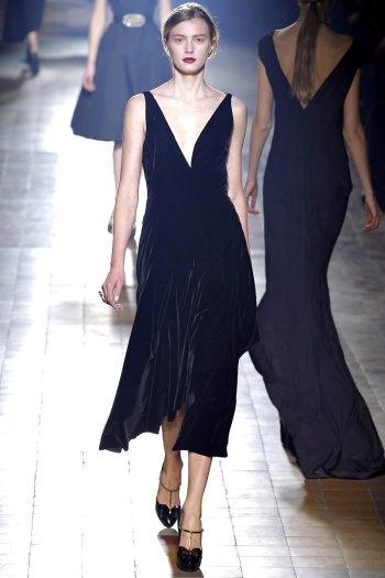 Lanvin Fall 2013 Runway picture from vogue.com
