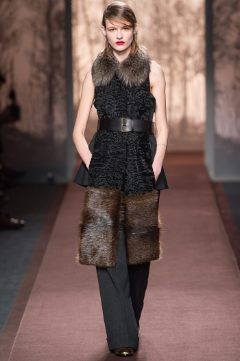 Marni Fall 2013 Runway picture from vogue.com